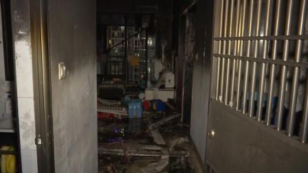海南海口  住户私带电瓶上楼超时充电致家中起大火