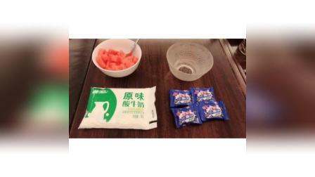 酸奶水果奥利奥