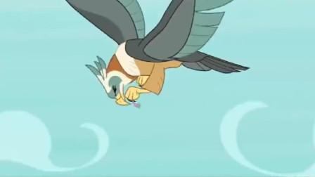 小马宝莉蜕变后的穗龙长出了翅膀