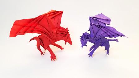 陈柏熹狮鹫折纸视频教程第6课折纸王子