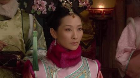 皇后送祺贵人珠链,祺贵人高兴坏了,安陵容脸色一变急忙捂住鼻子