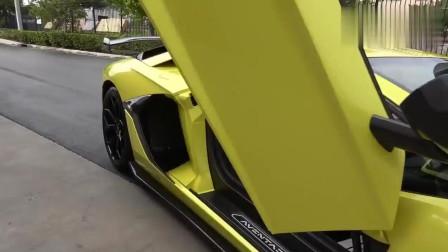 实拍兰博基尼Aventador SVJ
