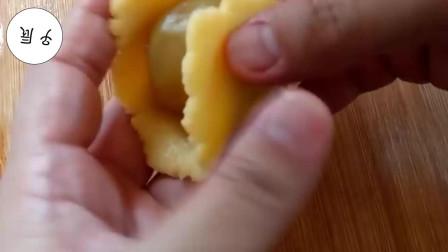 过年了教你做一道自制油炸奶酪饼, 做法简单, 还能招待客人!