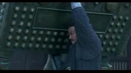 《楚汉传奇》: 楚霸王项羽单手举起千斤巨鼎, 地板砖都被他踩碎了!