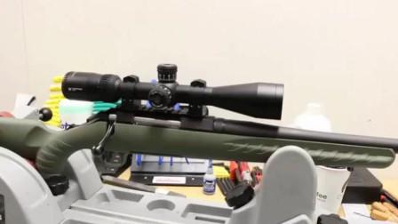 全新拆封的一把狙击步枪, 我们拿去野外看看它的性能怎么样