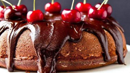 甜而不腻的选择, 樱桃巧克力蛋糕的做法5