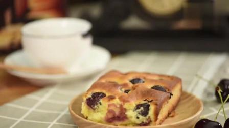 属于浪漫文艺青年的下午茶! 乡村风樱桃芝士蛋糕!