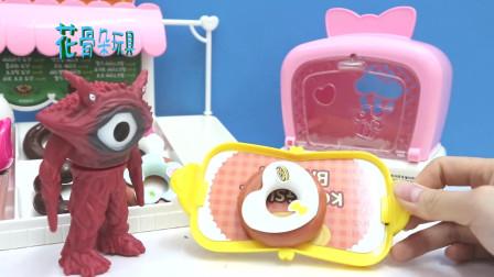 加恩Q来甜品店买甜甜圈, 儿童玩具故事