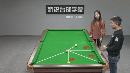 台球教学:想知道如何让白球走位变精细吗? 原来是有公式的, 学完你也可以!