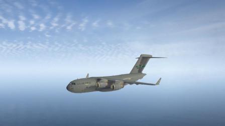[琴爷]GTA5MOD: c17a空中霸王与坦克ALKHALID2! 大闹军事基地!