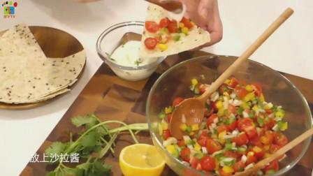 懒人减肥快手料理番茄沙拉, 健康低脂高营养, 做法很简单
