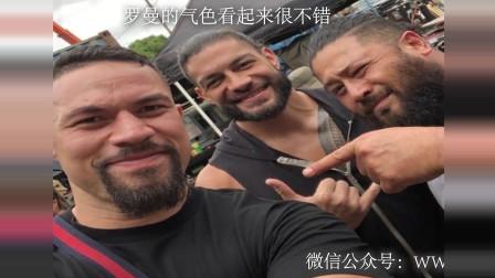 曝光WWE罗曼雷恩斯度假视频 祝大狗早日康复!