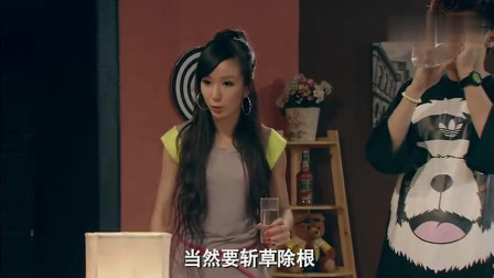 胡一菲连用四个成语, 关谷这评价太逗了, 曾小贤和吕子乔一脸懵