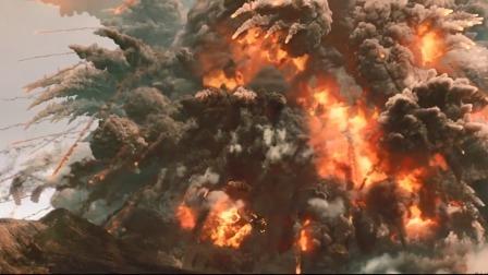 2012:世界末日的火山喷发,疯子还要直播,下一秒火山喷发!