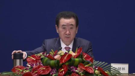 王健林:任何体育运动关注度都不可能和世界杯