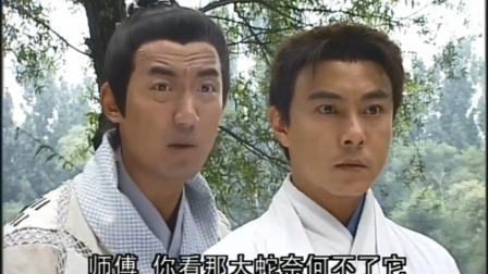 张三丰看大蛇和乌龟打架,没想竟悟出了太极拳,直接把逍遥王打败