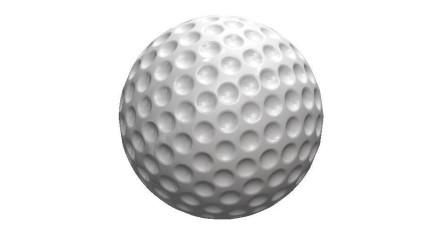 使用SolidWorks特征圆周阵列绘制一个高尔夫球