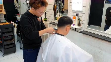 30岁男人发型这样剪、稳重不失男人味