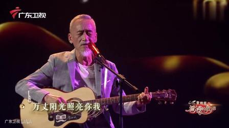 《一剪梅》的谱曲者陈彼得亲自唱, 自己写的歌唱出来果然很不一样