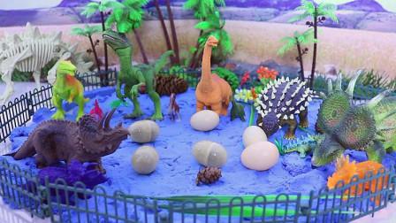 发现很多恐龙蛋