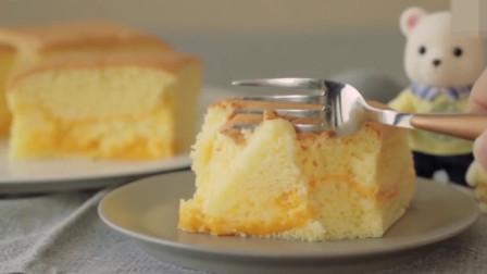「烘焙教程」切达干酪蛋糕,基础海绵奶香味蛋糕食谱