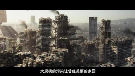 富人建造太空城享受生活,穷人的飞船上来就会被击落!速看科幻电影《极乐空间》