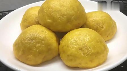 风味人间:南瓜最好吃的新做法,不用烤箱,不用锅烙,简单一做,比面包好吃