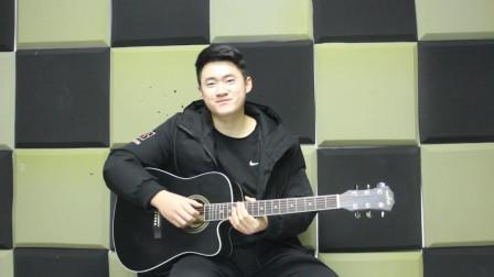 吉他弹奏《滴答》,一共用到3个和弦