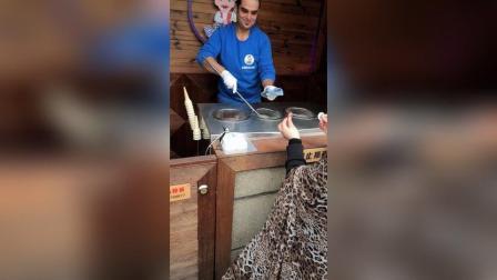 网红土耳其冰淇淋