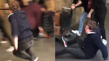 男子打卡《哈利波特》穿越站台景点 入戏太深猛撞墙