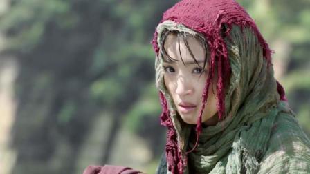 美女被追杀去跳悬崖,不料莲衣客从悬崖下救她,这狗粮撒的没话说