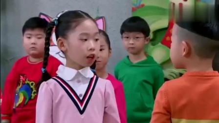 大头儿子真人版,儿子在幼儿园和妹妹进行比武大赛,最终还是输了