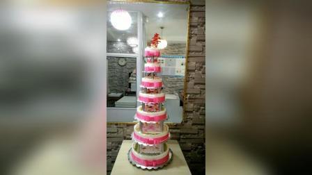 几层架子蛋糕, 制作一些小技巧, 怎样组装,