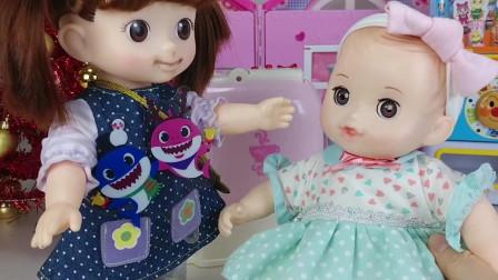 芭比娃娃偷吃了小豆子姐姐的蛋糕,她可真调皮