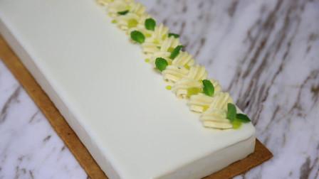 莫吉托慕斯蛋糕: 举例说明从饮料到甜品的互通