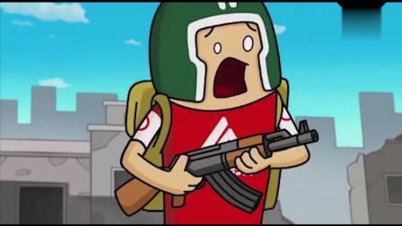 香肠派对吃鸡大战不做车神做枪神的瓦特成功把敌人赶到队友处