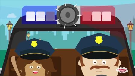 Kiboomers英文儿歌 交通篇 警车 Drive the Police Car