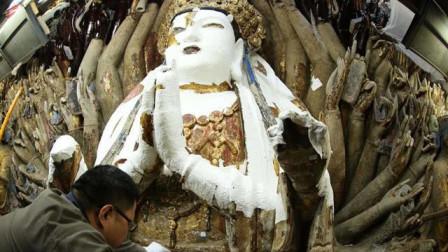 """日本佛像内藏有180件国宝,是否应该""""开膛破肚""""将其取出?"""