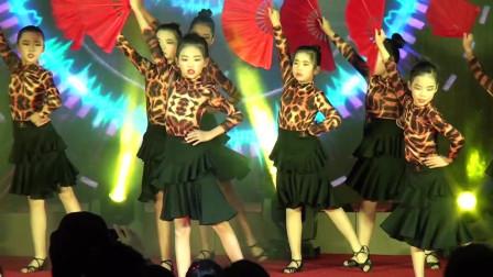 中星培训学校跨年晚会拉丁舞表演《森林之舞》