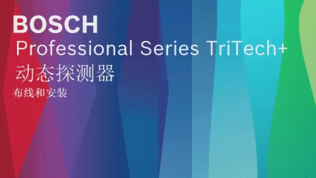 Professional Series TriTech动态探测器