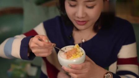 大胃王:密子君的饭后甜品,一个个爆浆蛋糕,看得直流口水!