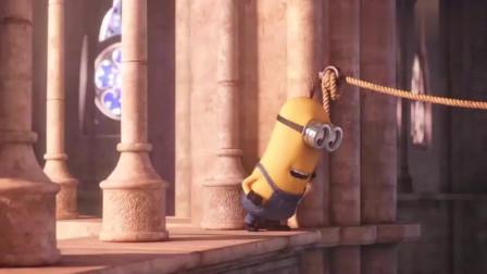 小黄人头顶花圈引来蜜蜂,然后在女王的加冕仪式上惹下了大祸!