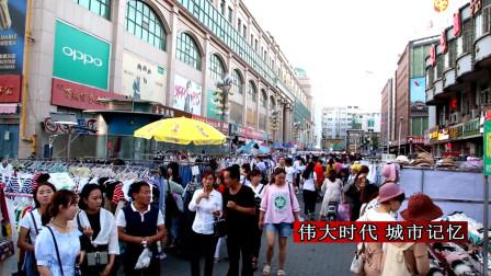 丰存杰:航拍宁夏银川最早最繁华的商城 每天都有6万多人经过这里?