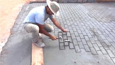 """民间牛人发明""""制砖""""神器,每天制砖6000块,"""