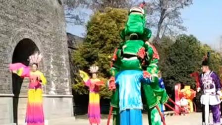 点赞!山西太原民间艺人积极排练传统表演节目