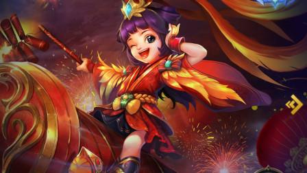 喜庆的福娃第一视角,祝大家新年快乐~