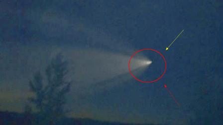 外星人科技?墨西哥网友拍到UFO穿越虫洞?