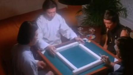 千王对千霸:高手打麻将,洗牌都这么厉害,还十三幺拦十三幺!不愧是高手