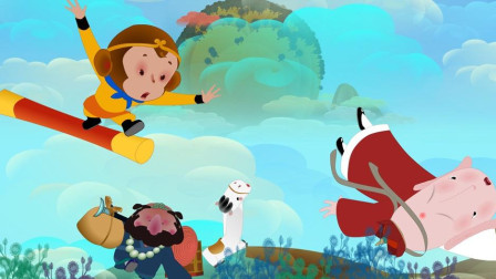 唐僧骑马噔了个噔,后面跟这个孙悟空,孙悟空跑得快,后面跟这个猪八戒~~~
