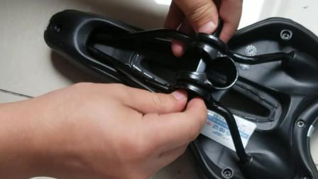 自行车夹码安装方法